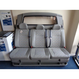 New Snoeks Double Cabin Seat with Bulkhead for VW Transporter T5