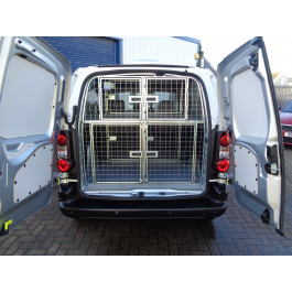 USED Peugeot Partner with 4 Brand New Dog Cages