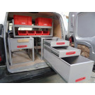 RACKING - New Zevim Racking units for small van